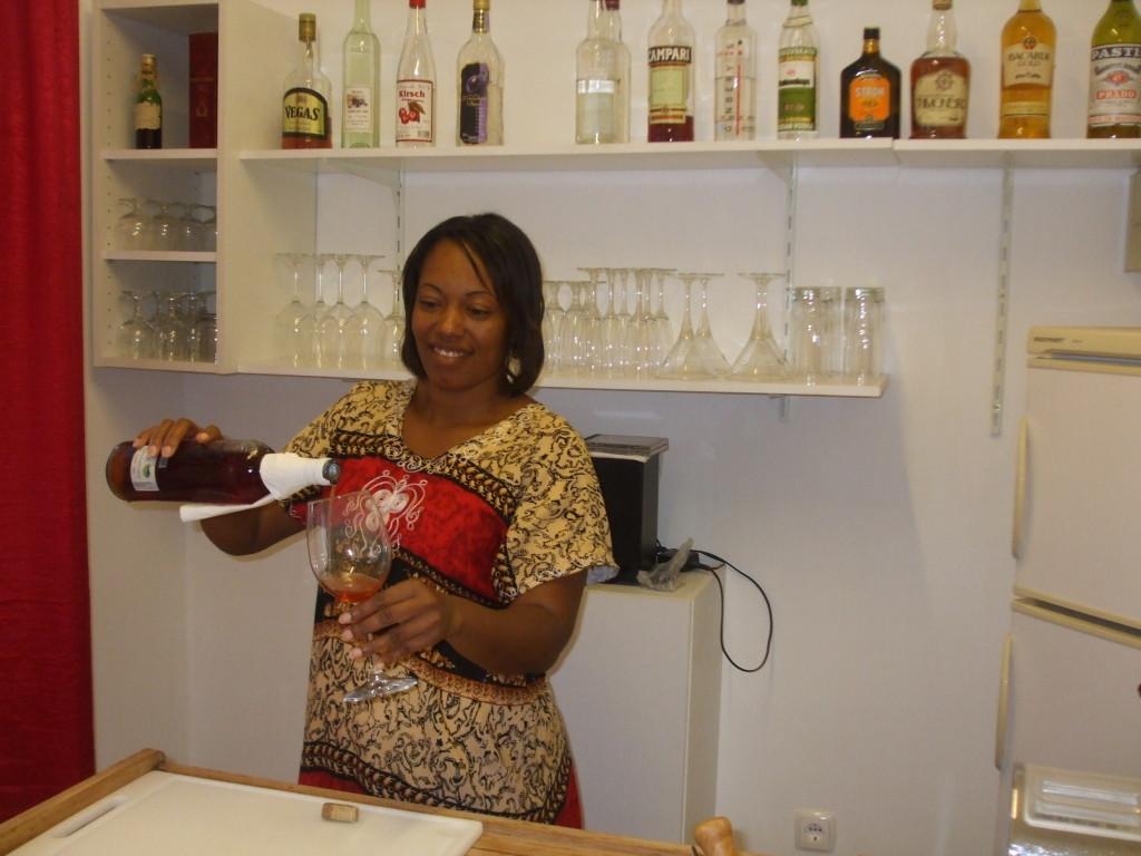 schoene Drinks aus unserer kleinen Bar