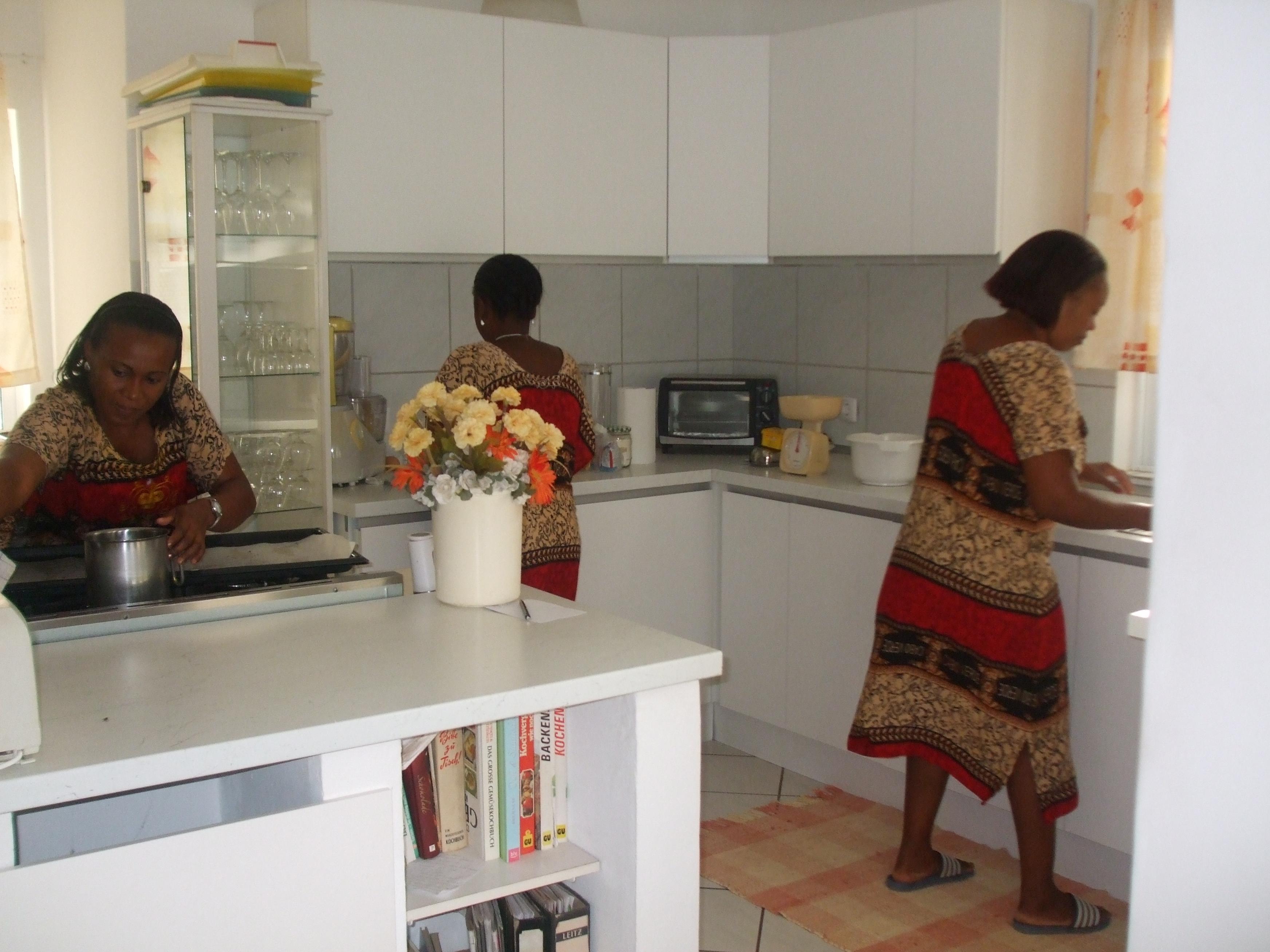 Küche für unser gutes Essen